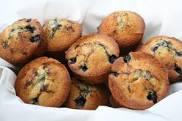 blå muffins